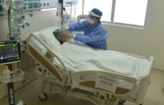 Yoğun bakımlardaki ağır hasta sayısı yüzde...