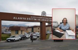 Alanya ALKÜ Hastanesi'nde komplo iddialarının...