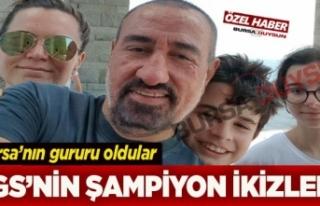 Doktor baba ve öğretmen annenin ikizleri Türkiye...