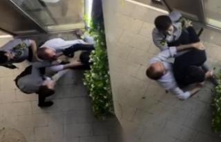 Doktor, özel güvenlik görevlileri tarafından darbedildi