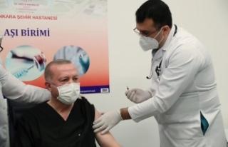 Erdoğan '3 doz aşımı oldum' dedi, tartışma...