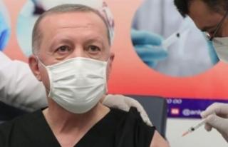 Erdoğan: BioNTech aşısı oldum, antikor da oluştu,...