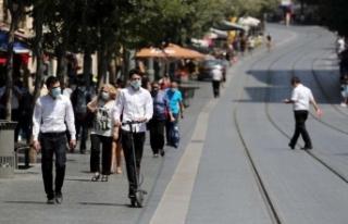 İsrail'de kapalı alanlarda da maske takma zorunluluğu...