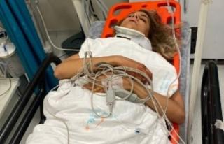 Özel hastanede çalışanı kazadan 1 gün sonra...