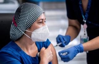 Sağlık çalışanlarına 3'üncü doz Biontech...