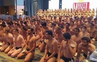 Best Model Türkiye elemesi değil sanki mülteci...