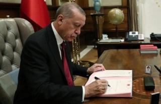 Cumhurbaşkanı Erdoğan imzaladı! Atama kararları...
