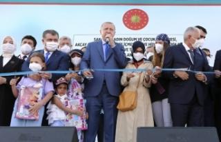 Cumhurbaşkanı Erdoğan, Sakarya'da Kadın Doğum...