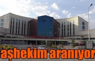 Devlet Hastanesine Başhekim aranıyor !