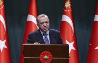 Erdoğan, kurban bayramı tatiliyle ilgili bir açıklama...