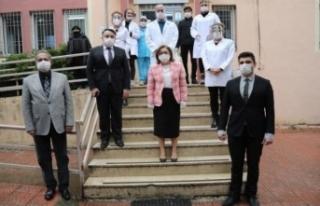 Fatma Şahin'den sağlık çalışanları için...