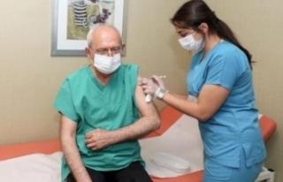 Kılıçdaroğlu 3'üncü doz corona aşısını...