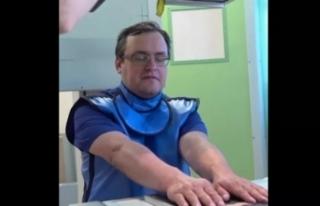 Rus doktor kendi vücuduna beş çip yerleştirdi