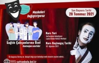 Safranbolu'da tiyatro eğitimlerinde Sağlık...