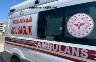 Sahte Polis 112 Ambulansındaki Hasta ve Personele...