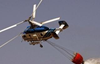 Yangınla mücadelede helikopter, uçağa göre daha...