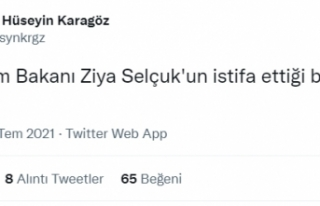 Yeni Şafak muhabiri: Ziya Selçuk'un istifa...