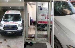 Ambulans ve İstasyona Saldırı