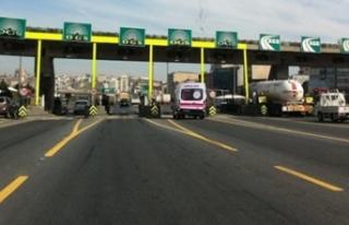 Ambulansların Köprü ve Otoyollardan Ücretsiz Geçişi...