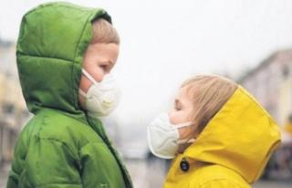 Çocuklarda bulaş riski yüzde 47 daha az