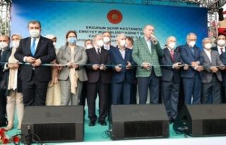 Cumhurbaşkanı Erdoğan, Erzurum Şehir Hastanesi'nin...