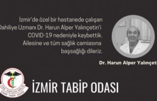 Doktor Covid-19 nedeniyle yaşamını yitirdi