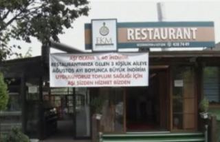 İstanbul'da aşı olanlara restoranda yüzde...
