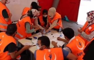 Kilis Devlet Hastanesinde HAP Eğitimi ve Tatbikatı