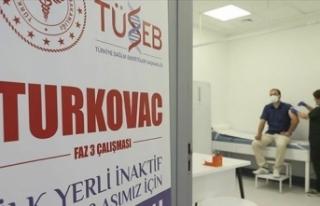Yerli aşı Turkovac için e-Nabız'dan da gönüllü...