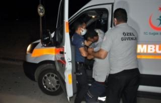 Alkollü Şahıs Ambulansı Kaçırdı: O Anlar Kameraya...