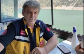 Ambulans şoförü kalp krizine yenik düştü