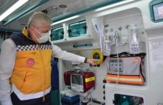 Bu İlimize 6 yeni acil sağlık hizmetleri istasyonu
