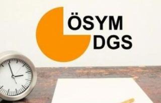 DGS Sonuçları Açıkladı