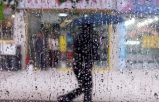 Kuvvetli yağış geliyor, 8 il için 'sel'...