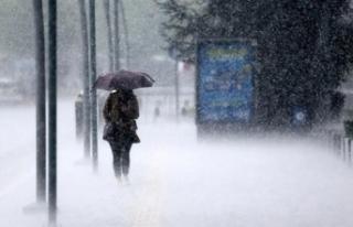 Meteoroloji uyardı: Bu illerde kuvvetli yağış...