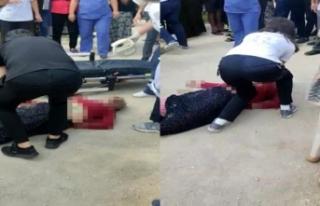 Milletvekili Aydın, Şehir Hastanesi önündeki ölümü...