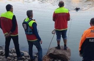 Sağlık çalışanı gölette kayboldu