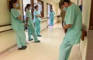 Sağlık çalışanlarının sesinin duyulmaması...