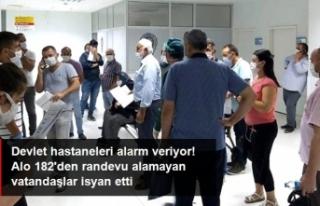 Devlet Hastanelerinde Randevu Krizi!