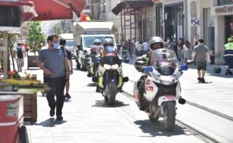 İstanbul'da motosiklet ambulanslar göreve başladı