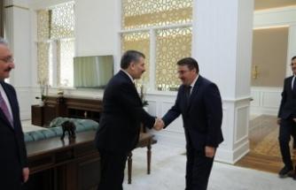 Sağlık BakanıSayın Dr. Fahrettin KOCA İle Bayramlaşma Töreni