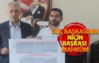 """Türk Sağlık Sen Şube Başkanı  Çeker   """"Suç ve Ceza birbirinden ayrı iki kavram değildir"""""""