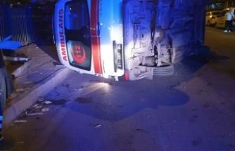 Adana 112 Ekibi Kaza Yaptı