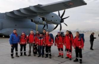 UMKE Arnavutluk'a Gidiyor