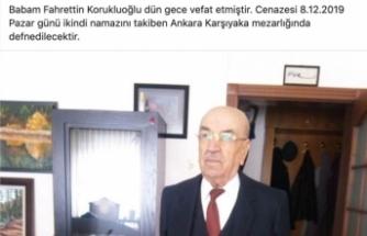 Dr.Sinan Korukluoğlu'nun acı günü