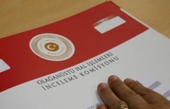 OHAL Komisyonu başvuruların yüzde 85'ini sonuçlandırdı