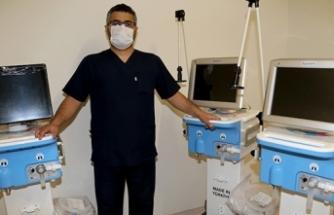 Şehir Hastanesinde Türk malı solunum cihazları devreye girdi