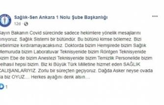 Cumhuriyet: Sağlık SEN KOCA'yı Tehdit Etti