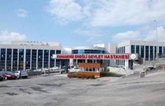 Ereğli Devlet Hastanesi'nde 4 personelin testi pozitif çıktı