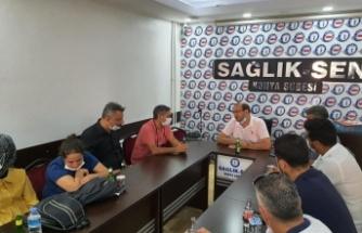 Konya Sağlık Sen'den Tavan Ek Ödemelere Tepki